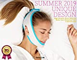 [New 2019] Sleep Lab's Best Anti Snoring Chin Strap, Soft, Breathable Voted #1