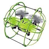 Rabing Ifly Mini RC Quadcopter 2,4 GHz Fernsteuerung Kletterwand Flugzeug mit 6 Achsen RC Drohne (grün)