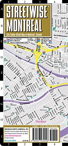 Plan StreetWise Montréal par Michelin