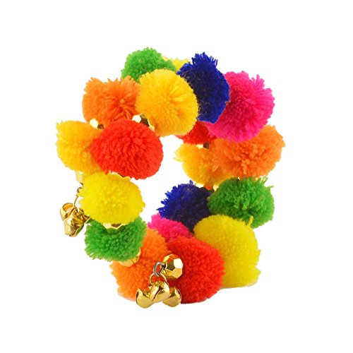 Crayonflakes Multicolor Fabric Bangle For Girls