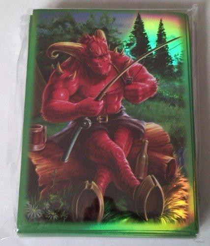 50 Protector Sleeves Fishing Demon - Magic Pokemon WoW Kartenhüllen Deck Hüllen (Demon Magic-karten)