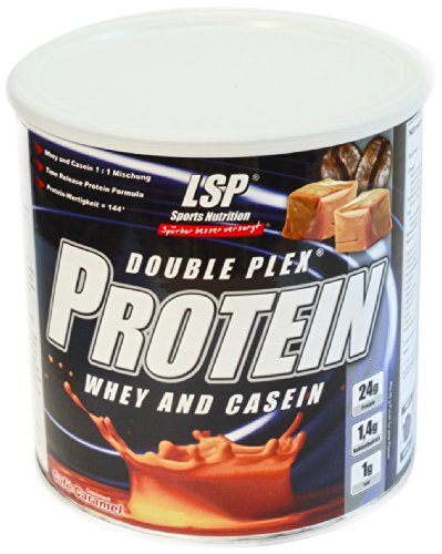 LSP Double Plex Protein Cafe Caramel, 1er Pack (1 x 750 g)