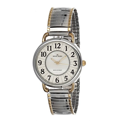 anne-klein-womens-quartz-watch-with-mother-of-pearl-dial-analogue-display-and-two-tone-stainless-ste
