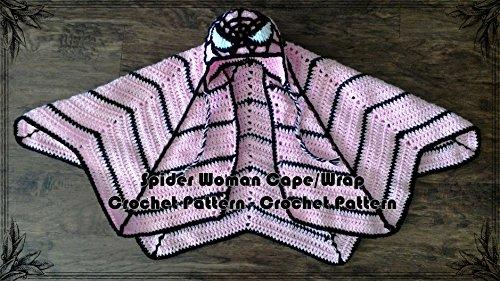 Spider Woman Cape/Wrap Crochet Pattern (English Edition)
