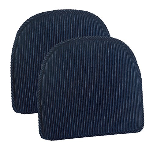 Klear Vu 877455-05A Chair Pads Navy