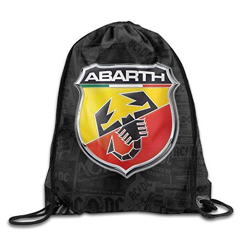 forth 3J Custom Abarth Car logo coulisse zaino Beam bocca Bags