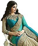 #9: saree(ESOMIC FIROZI BLUE SAREE)