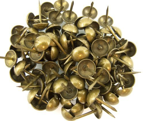 C.S. Osborne Natural French Nail Tacks Antique Brass 100pk by C.S. Osborne (English Manual)