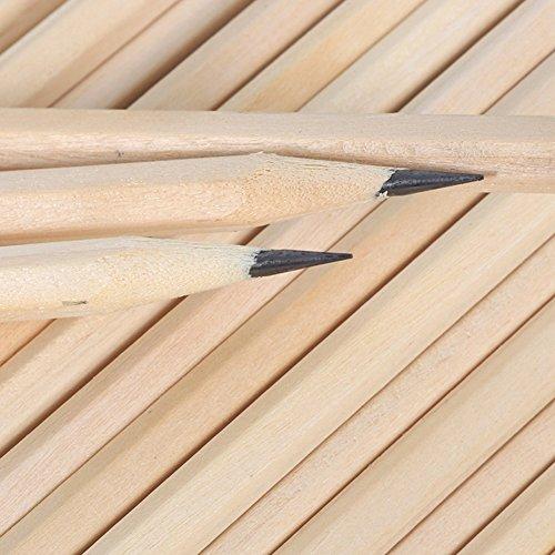 pink888 HB-Bleistifte aus Holz, für Zeichnen, Schule, Lernen, Kunst, Malen, Schreibwaren multi
