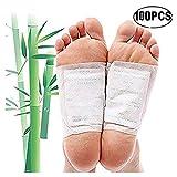 Fußpflaster zur entgiftung, Singeru Detox Fußpflaster Bambus Pads Zum Entschlacken 50 Stk Detox Vitalpflaster