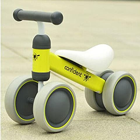 Four Wheel Baby Bike Baby Walk Bike Children Balance Bikes Scooter Infant 1-2years Scooter No Foot Pedal Driving Bike Gift for Infant Four Wheel ,