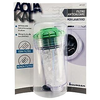 AQUASAN 1257Kalkfilter für Waschmaschinen, weiß