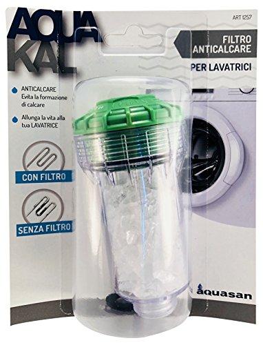 Aquasan 1257Filtro antical para lavadoras, color blanco