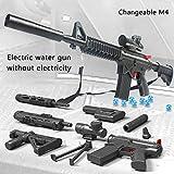 Fernando S.L Mini M4 Rifle de Francotirador versión Alta Real Combate Juguete-Arma de Bala de Agua-Arma Airsoft- Modelo de Juguete-Juguetes de Réplica de Armas para Niños Adultos