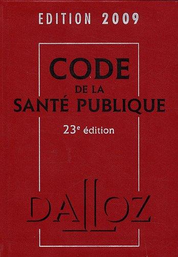 Code de la sant publique