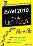 Excel 2010 Pas � pas Pour les nuls