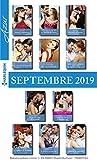 11 romans Azur + 1 gratuit (n°4125 à 4135 - Septembre 2019)