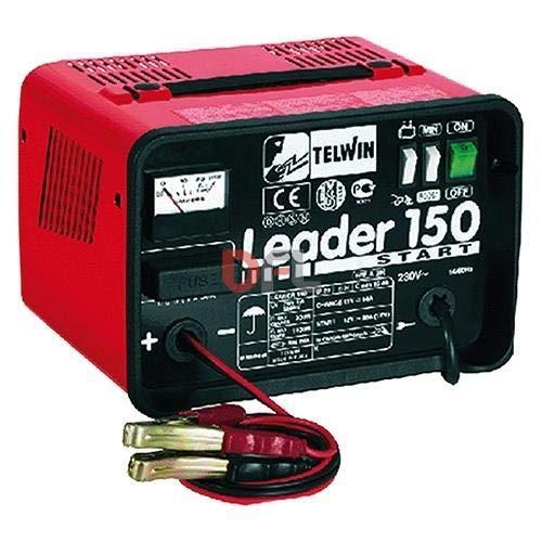 Telwin - Leader 150 Start - Chargeur de batterie portable 12V