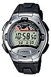Casio Collection – Herren-Armbanduhr mit Digital-Display und Resin-Armband – W-753-1AVES