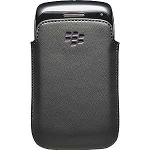 BlackBerry for Leather Pocket for BlackBerry Bold 9790 - Black/Purple