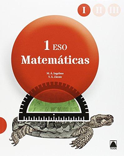 Matemáticas 1º ESO - 3 volúmenes - 9788430788798