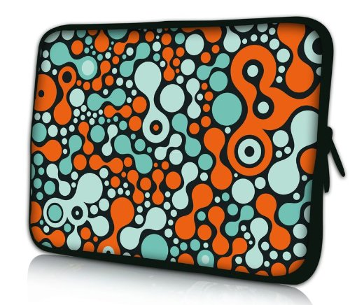 """Sidorenko Designer Laptoptasche Notebooktasche Sleeve Größe 39,6cm von 15"""" bis 15,6"""" Zoll Neopren Schutzhülle"""
