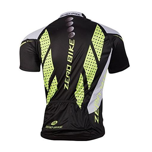 ELEAR&Reg; Maglia da Uomo a Maniche Corte per Ciclismo Maglia da Corsa Abbigliamento Casual Impermeabile