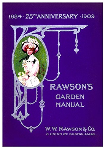 wwrawson-co-25th-anniversary-garden-manual-1909-a4-glossy-art-print-taken-from-a-beautifully-illustr