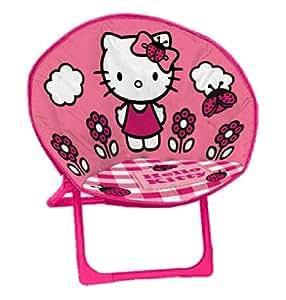 Arditex Fauteuil Hello Kitty pliable