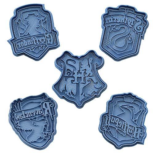 Cuticuter Pack Di Taglia Biscotti Motivo Case Di Hogwarts