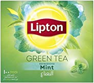 Lipton Green Tea Mint, 100 Teabags