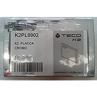 Teco - PLACCA CROMATA PER TECO K2