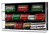 Acrylic Wall Display Case for 1:76 Model Buses-3 Shelves