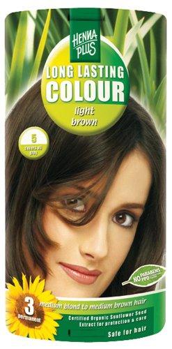 Hennaplus 49143 Long Lasting Colour 5 Light Brown -
