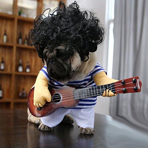 Imagen de ueetek costume para mascotas traje disfraz ropa para perros gatos dentro de 5kg size m alternativa