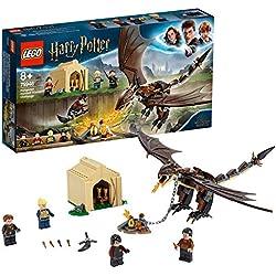 LEGO Harry Potter- Desafío de los Tres Magos Colacuerno Húngaro Harry Potter TM Set de Construcción de Juguete para Recrear Mágicas Aventuras, Incluye Minifiguras de los Personajes, Multicolor (75946)