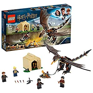 LEGO Harry Potter - Desafío de los Tres Magos Colacuerno Húngaro, Set de Construcción de Juguete para Recrear Mágicas Aventuras, Incluye Minifiguras de los Personajes (75946)