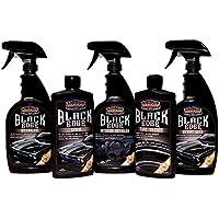 Surf Ciudad Garaje–negro borde cera especial Kit–Set de regalo, Spray & Tire brillante, interior en spray & cera en spray