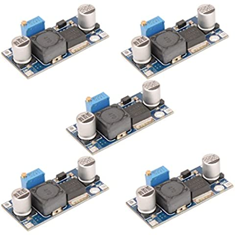 DAOKAI® 5PCS DC-DC regolabile Step-up Power Boost Converter Module XL6009 Sostituire LM2577