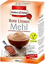 Müller's Mühle - Rote Linsen Mehl