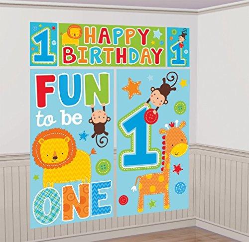 oy 's ersten Geburtstag Szene Setter Kit ()