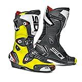 Sidi Mag 1 Motorcycle Boots 44 Yellow Fluo/Black (UK 9.5)