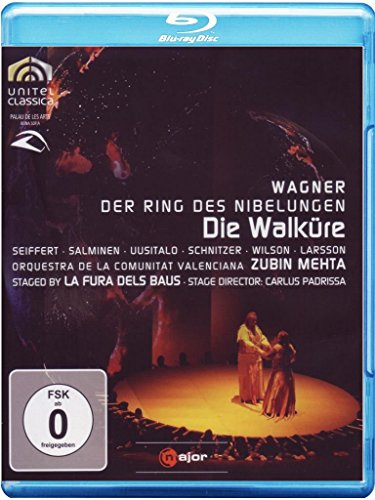 WAGNER: Die Walküre (staged by La Fura dels Baus) - Zubin Mehta [Blu-Ray] (3d-dvd, Surround)