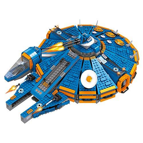 Ausini - Juego de bloques construcción Nave espacial & 4 astronautas - 1.566 piezas (ColorBaby 42839)