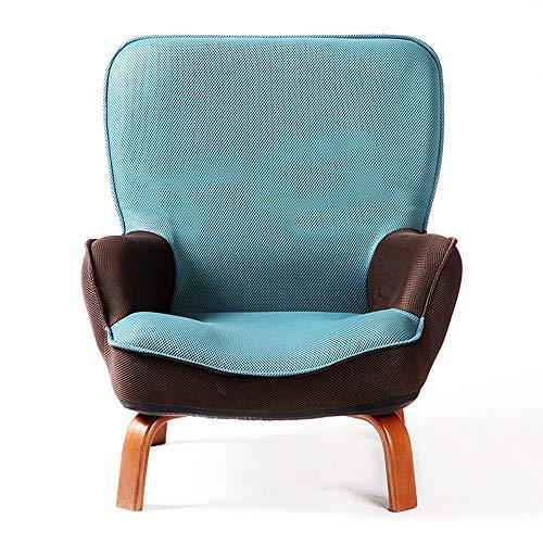 QTQZHH Sofa-Bett-Karikatur-Kindersofa-fauler schöner einzelner Stuhl-zufälliger kreativer Wäsche-Stuhl (Farbe: See-Blau)