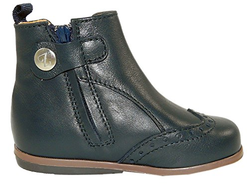 Zecchino d'oro n 1-0155, bottes fille/femme à motif budapest Bleu - Blau (150)