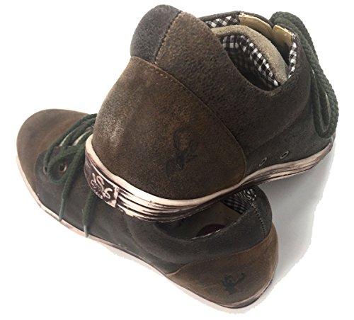 Spieth & Wensky Ikarus Sneaker Russ/Braun/Whisky, Gr.42