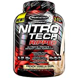 Muscletech Performance Series Nitro-Tech Ripped French Vanilla Swirl - 1806 gr