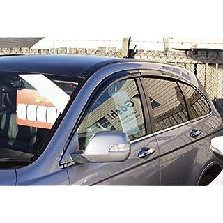 Autoclover Windabweiser-Set für Honda CRV 2007-2012, 6-teilig