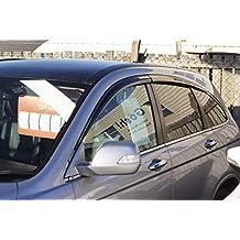 Autoclover - Juego de deflectores de Viento para Honda CRV 2007-2012 (6 Unidades